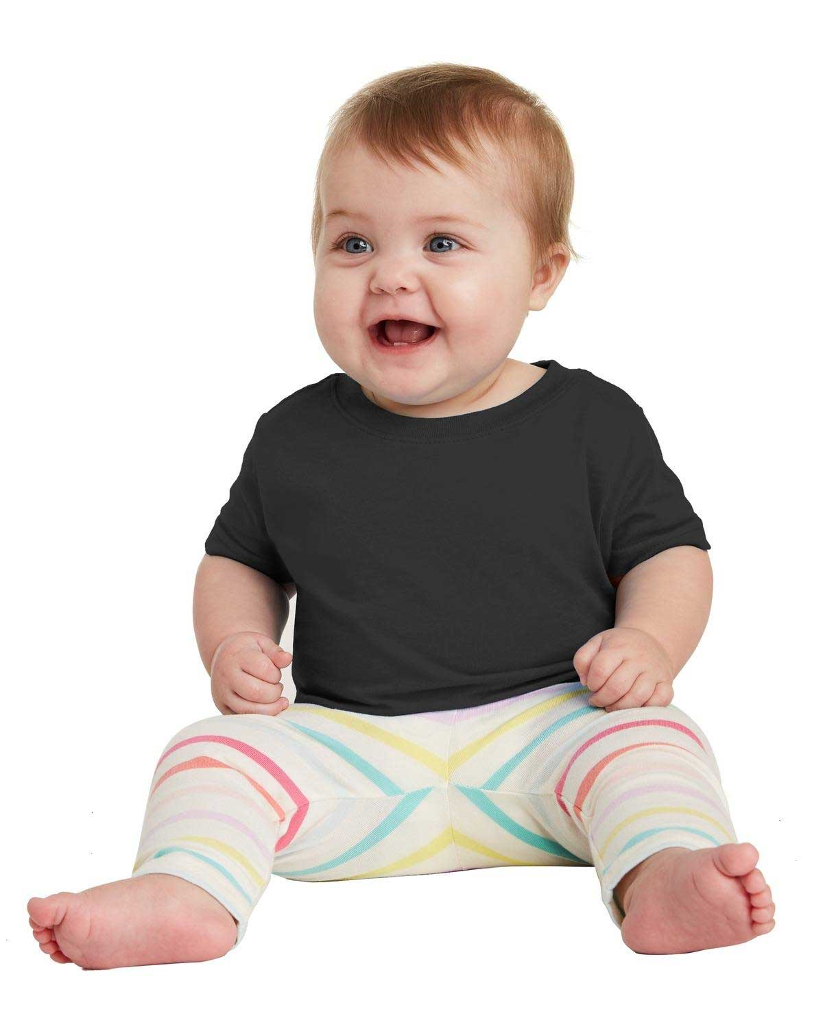 Picture of Rabbit Skins ™  Infant Fine Jersey Tee. RS3322