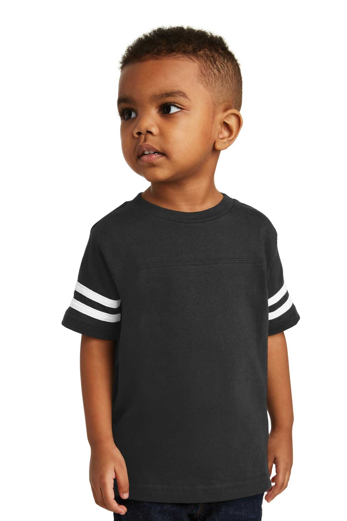 Picture of Rabbit Skins ™  Toddler Football Fine Jersey Tee. RS3037