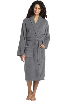 Picture of Port Authority ®  Plush Microfleece Shawl Collar Robe. R102