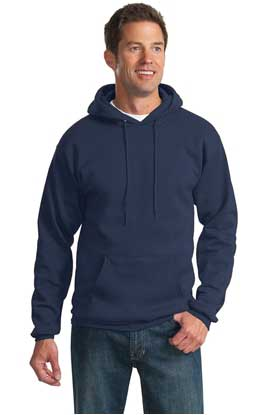 Picture of Port & Company ®  Tall Essential Fleece Pullover Hooded Sweatshirt. PC90HT