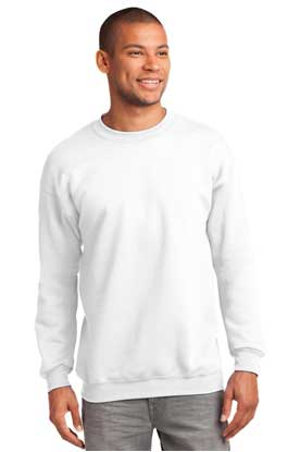 Picture of Port & Company ®  Tall Essential Fleece Crewneck Sweatshirt. PC90T