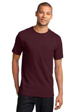Picture of Port & Company ®  - Tall Essential Pocket Tee. PC61PT