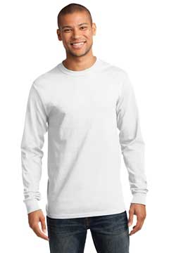 Picture of Port & Company ®  - Tall Long Sleeve Essential Tee. PC61LST