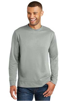 Picture of Port & Company ® Performance Fleece Crewneck Sweatshirt. PC590