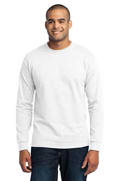 Picture of Port & Company ®  Tall Long Sleeve Core Blend Tee. PC55LST