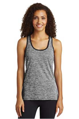 Picture of Sport-Tek  ®  Ladies PosiCharge  ®  Electric Heather Racerback Tank. LST396