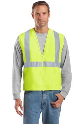 Picture of CornerStone ®  - ANSI 107 Class 2 Safety Vest.  CSV400