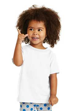 Picture of Port & Company ®  Toddler Core Cotton Tee. CAR54T