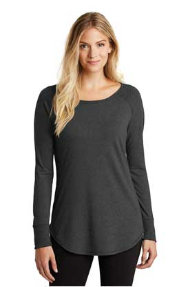 Picture of District Made  ®  Ladies Perfect Tri  ®  Long Sleeve . DT132L