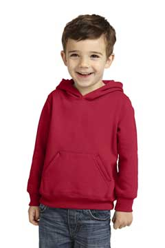 Picture of Port & Company ®  Toddler Core Fleece Pullover Hooded Sweatshirt. CAR78TH