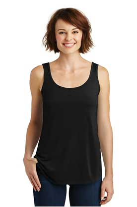 Picture of District Made ®  Ladies Drapey Tank. DM414