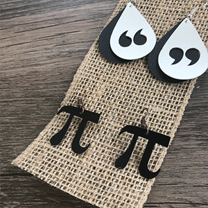 Making Custom Earrings for Teacher Gifts with the Silhouette Cameo
