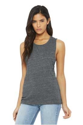 Picture of BELLA+CANVAS  ®  Women's Flowy Scoop Muscle Tank. BC8803