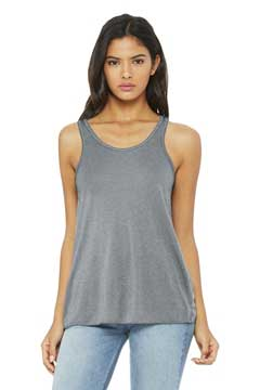 Picture of BELLA+CANVAS  ®  Women's Flowy Racerback Tank. BC8800