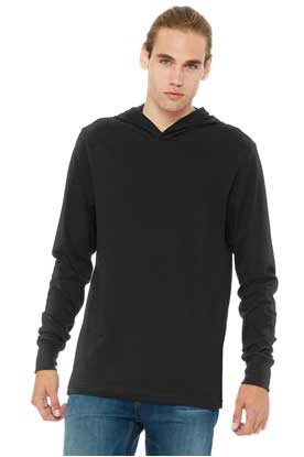 Picture of BELLA+CANVAS  ®  Unisex Jersey Long Sleeve Hoodie. BC3512