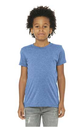 Picture of BELLA+CANVAS  ®  Youth Triblend Short Sleeve Tee. BC3413Y