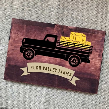 fall pumpkin truck svg cut file