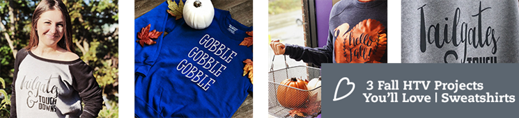 3 Fall HTV Projects You'll Love – Autumn Sweaters