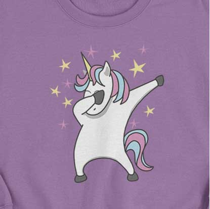 Picture of Happy Crafters Transfer - Unicorn