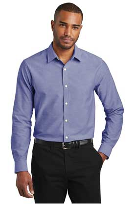 Picture of Port Authority  ®  Slim Fit SuperPro  ™  Oxford Shirt. S661