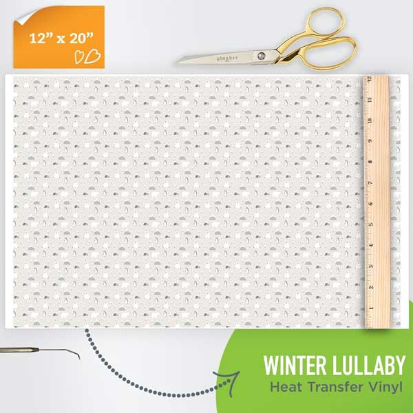 Picture of Happy Crafters Pattern HTV - Winter Lullaby
