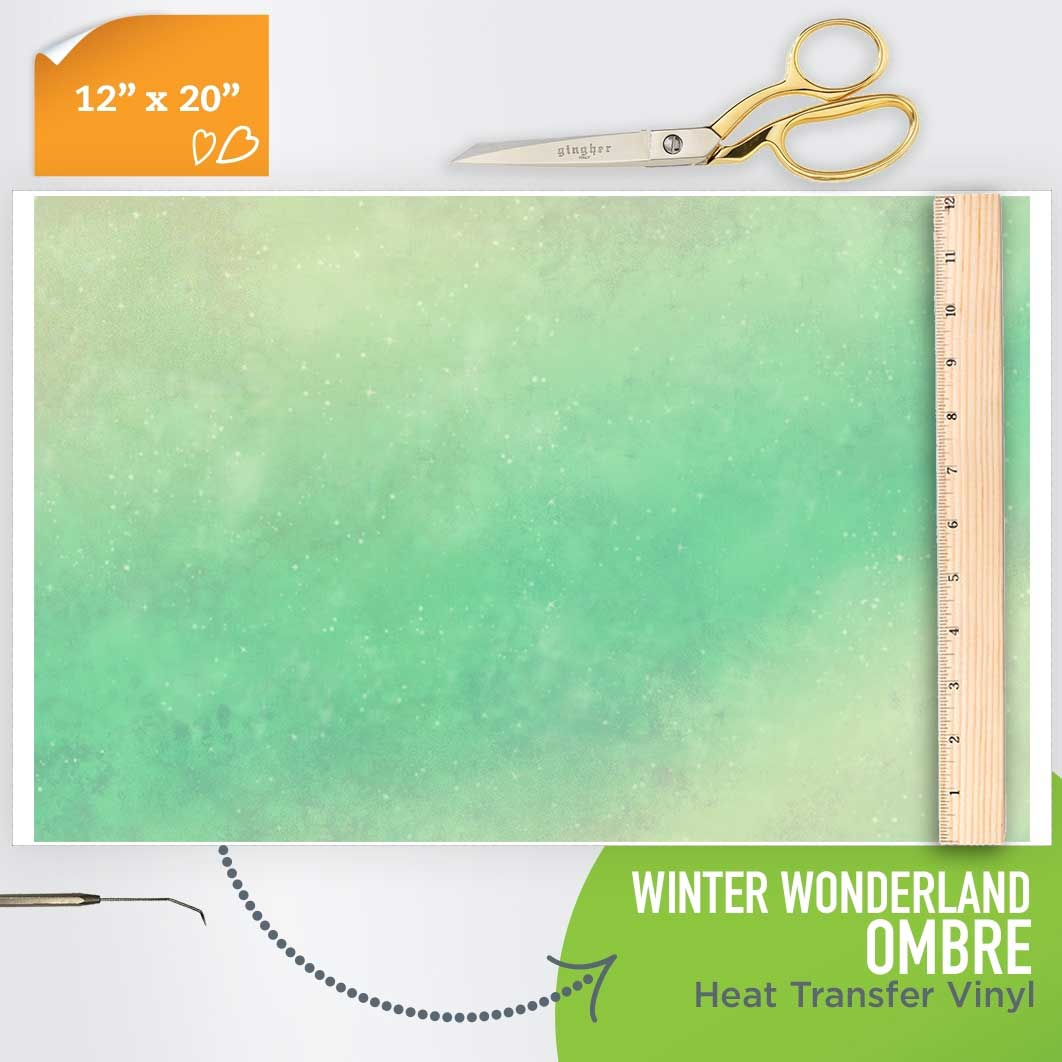 Picture of Happy Crafters Pattern HTV - Winter Wonderland Ombre