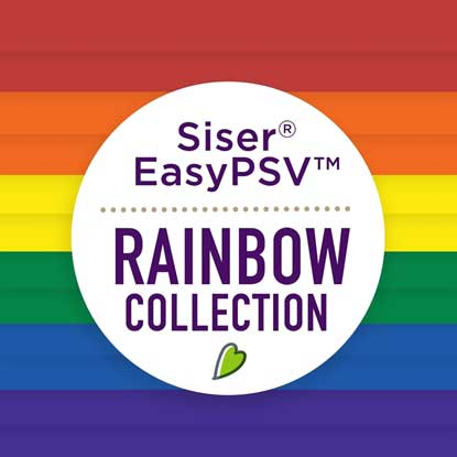 Picture of Siser® EasyPSV™ Rainbow Collection - Permanent