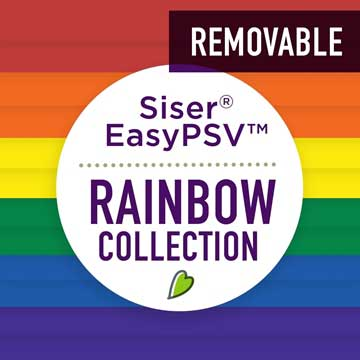 Picture of Siser® EasyPSV™ Rainbow Collection - Removable