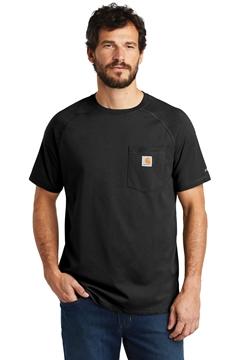 Carhartt Force® Cotton Delmont Short Sleeve T-Shirt. CT100410