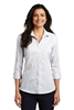 Port Authority ®  Ladies 3/4-Sleeve Micro Tattersall Easy Care Shirt. LW643