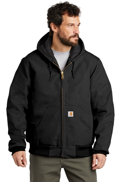 Carhartt® Tall Quilted-Flannel-Lined Duck Active Jac. CTTSJ140
