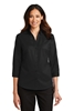 Port Authority ®  Ladies 3/4-Sleeve SuperPro ™  Twill Shirt. L665