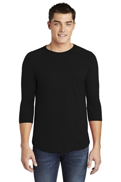 American Apparel® Poly-Cotton 3/4-Sleeve Raglan T-Shirt. BB453W