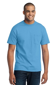 Port & Company ®  Tall Core Blend Pocket Tee. PC55PT