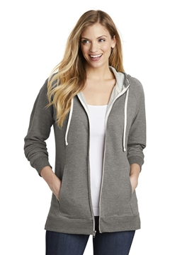 District  ®  Women's Perfect Tri  ®  French Terry Full-Zip Hoodie. DT456