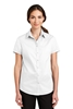Port Authority ®  Ladies Short Sleeve SuperPro ™  Twill Shirt. L664
