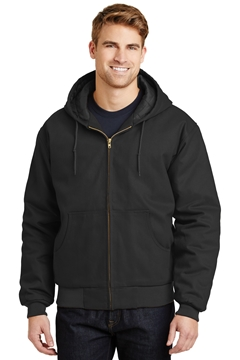 CornerStone ®  - Duck Cloth Hooded Work Jacket.  J763H