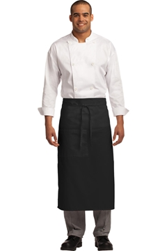 Port Authority ®  Easy Care Full Bistro Apron with Stain Release. A701
