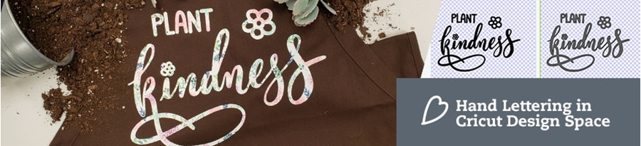 Create Custom Hand Lettering in Cricut Design Space | Using the Procreate App with HTV