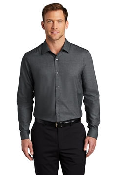 Port Authority® Pincheck Easy Care Shirt W645