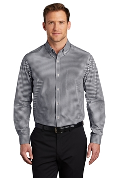 Port Authority® Broadcloth Gingham Easy Care Shirt W644