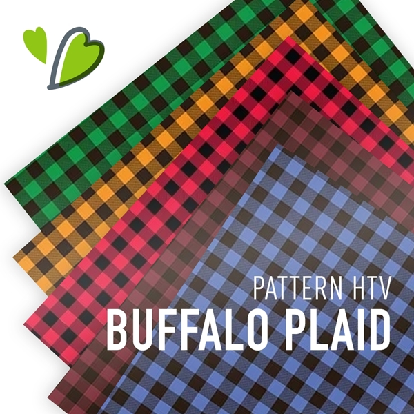 Picture of Buffalo Plaid HTV Patterns