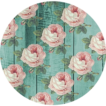 Picture of Happy Crafters Pattern HTV - Mint Wood Roses