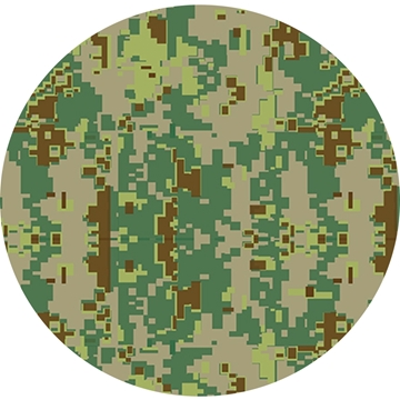 Picture of Happy Crafters Pattern Adhesive Vinyl - Military Camo