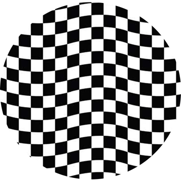 Picture of Happy Crafters Pattern Adhesive Vinyl - Checkerboard Racing Flag
