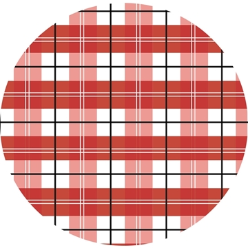 Picture of Happy Crafters Pattern Adhesive Vinyl - Plaid