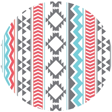 Picture of Happy Crafters Pattern Adhesive Vinyl - Southwest Aztec