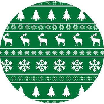 Picture of Happy Crafters Pattern Adhesive Vinyl - Ugly Sweater Mistletoe
